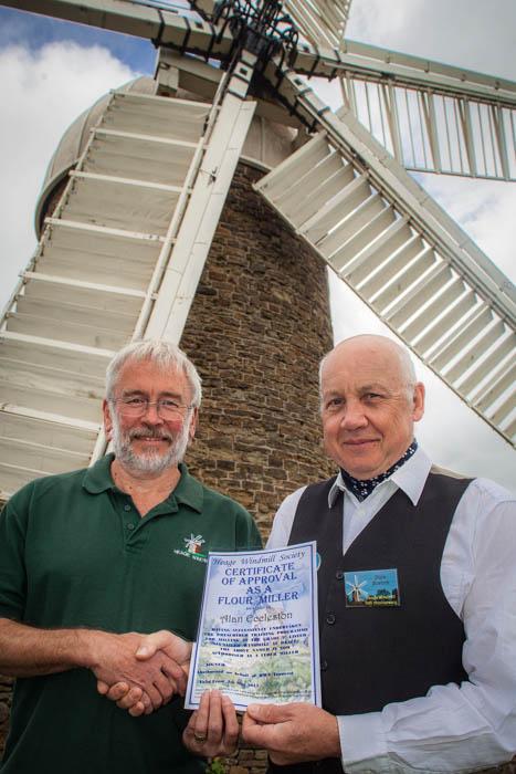 Alan Eccleston - Flour Miller Certificate