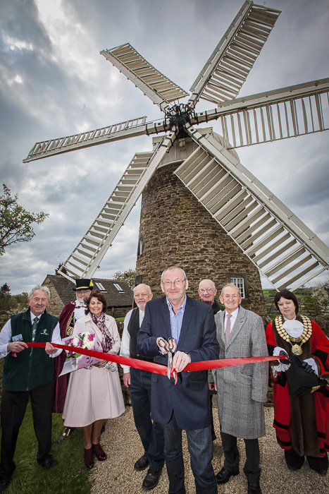 Andy Potter opening Heage Windmill 2014