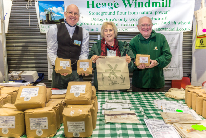 Piers Bostock, Lynn Allen and Chris Wragg from Heage Windmill