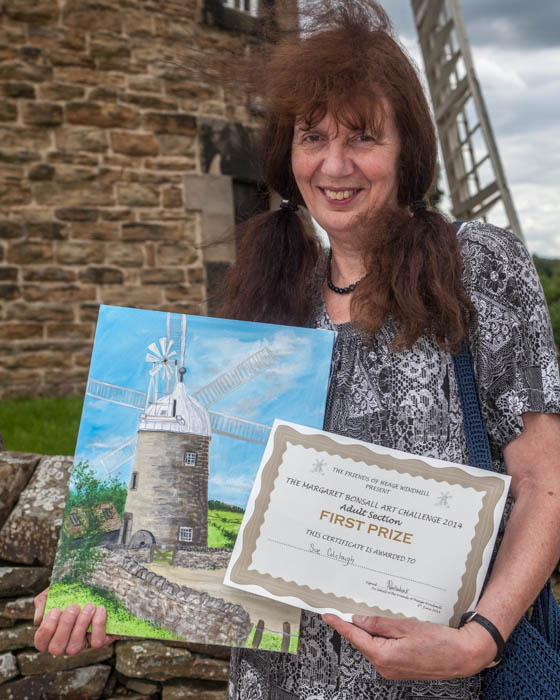 Sue Colclough - winner, Art Challenge 2014
