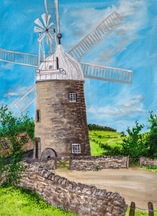 Painting by Sue Colclough