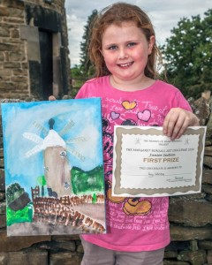 Amy Womble - Junior winner - Art Challenge 2014