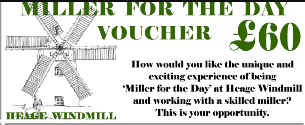 Miller for the Day £60 Voucher