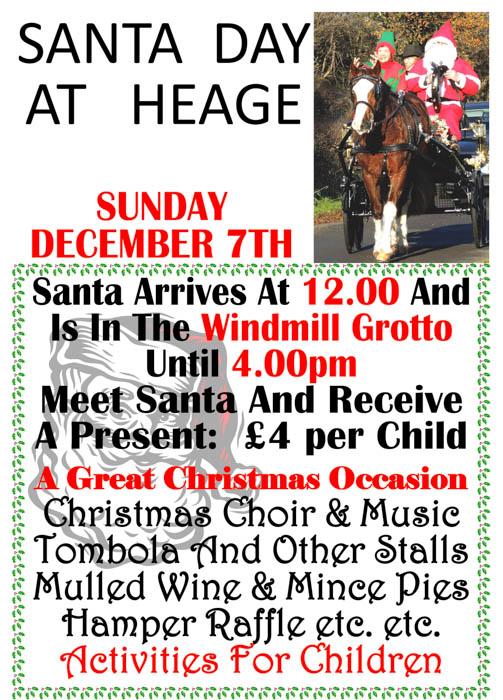 Santa Day 2014  A4 Poster