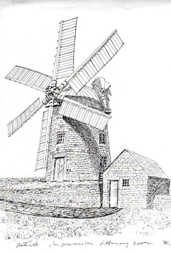 Sketch of Mill 2002 Dave Kent004