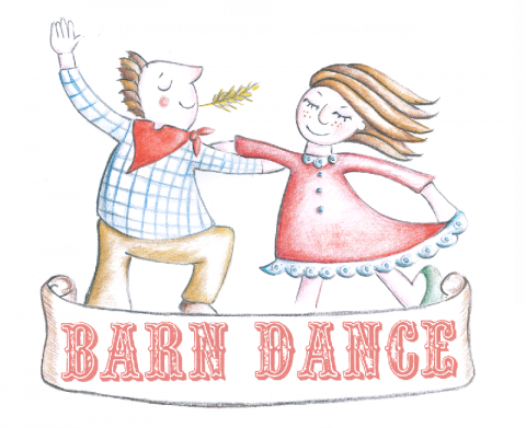 barn dance coloring pages - photo#46