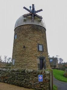 Heage Windmill - Sails Off Nov 26 007