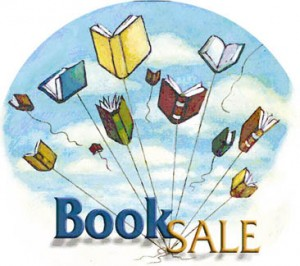 Book Sale Clip Art 2