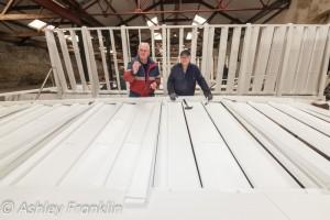 Heage Windmill Sail Restoration - Feb 2016 35
